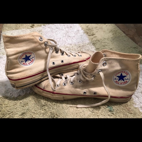296e59645d23 Converse Other - Vintage Converse Chuck Taylor s All Stars Hi-Top
